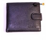 Мужской кошелек в два сложения